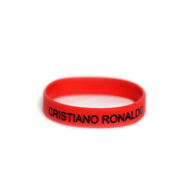 Bracelete silicone vermelho