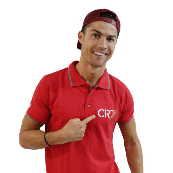 Polo vermelho Ronaldo
