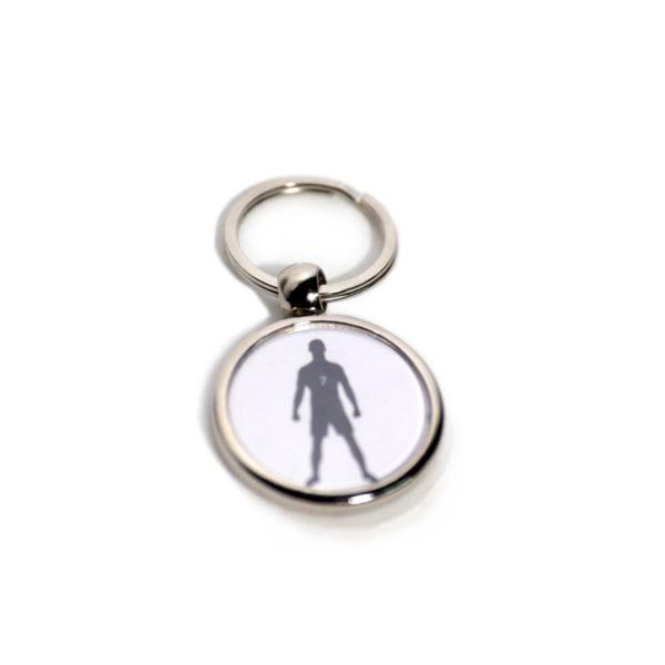 Porta-chave metal redondo